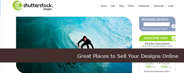 50 Great Places to Sell Your Designs Online