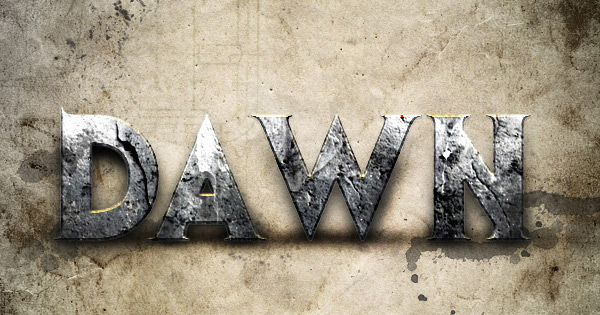 dawn-of-war-text-effect