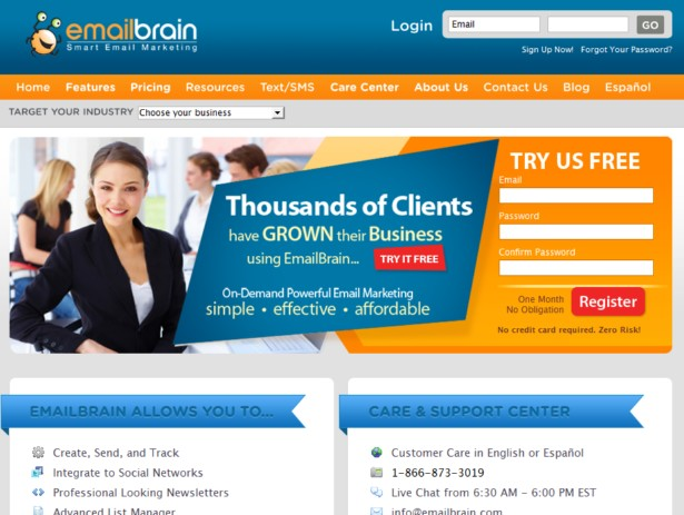 Emailbrain - Smart Email Marketing