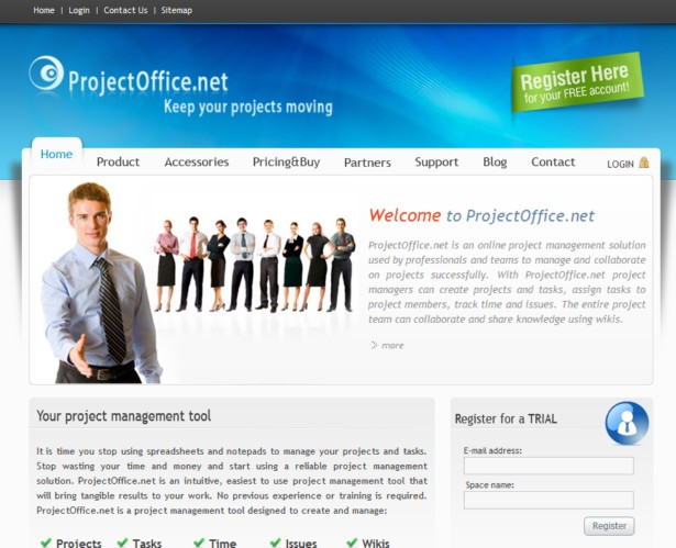 ProjectOffice.net - Online project management software