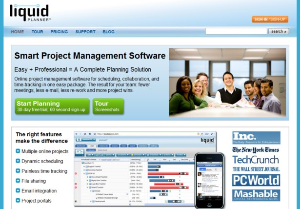 LiquidPlanner - Online project management software: collaborate, schedule, track