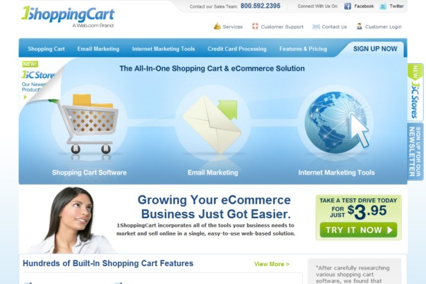 1ShoppingCart.com - Shopping Cart and Ecommerce Software