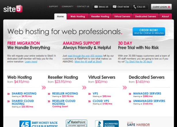Site5 - Web Hosting
