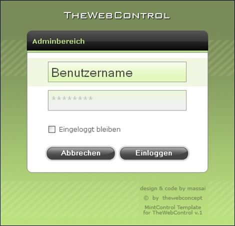 MintControl_Login_by_massai123