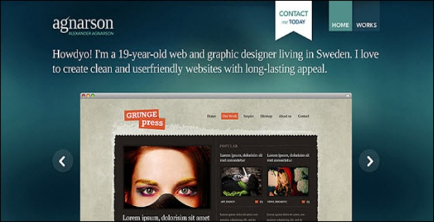 35 Creative and Good Looking Examples of Sliders In Web Design