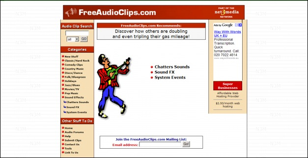 Royalty Free Music and Stock Audio Clips from RF