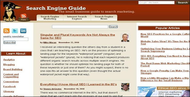 Search Engine Guide