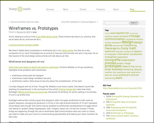 wireframesvsprototypes