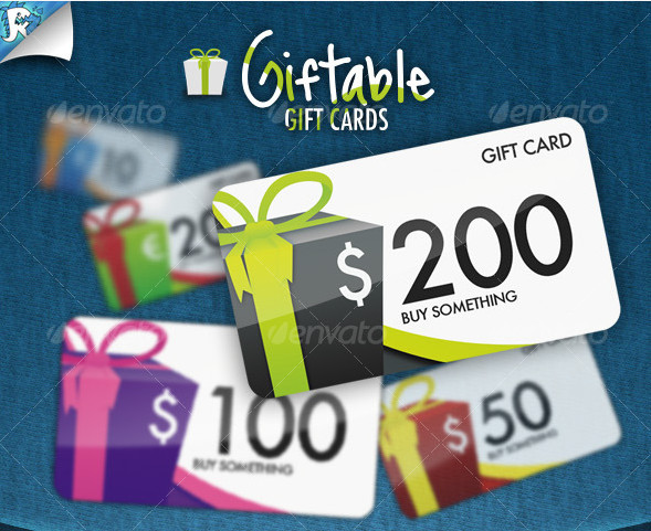 Giftable Gift Cards