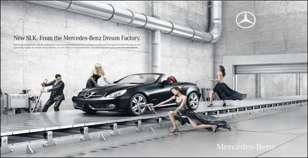 40 brilliant and mind blowing car advertisements for Embrace by mercedes benz
