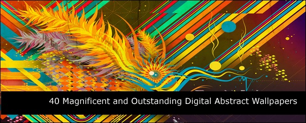 40 Magnificent and Outstanding Digital Abstract Wallpapers