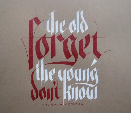 forget-calligraphy