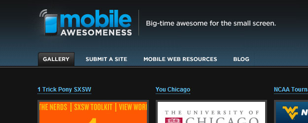 Mobile Awesomeness