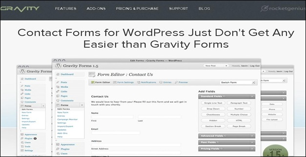 Gravity-Forms-wordpress-plugin