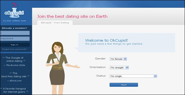from Stanley okcupid free dating service