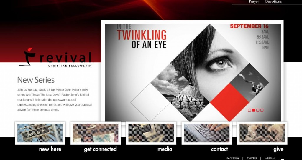 9. Banner Web Design Inspiration
