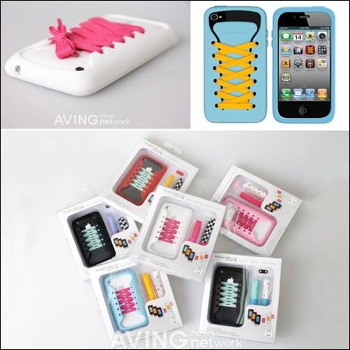 iShoes Silicone Case For iPhone 4