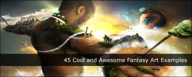 45 Cool and Awesome Fantasy Art Examples