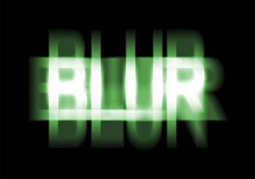 Ghostly Blur Text Effect