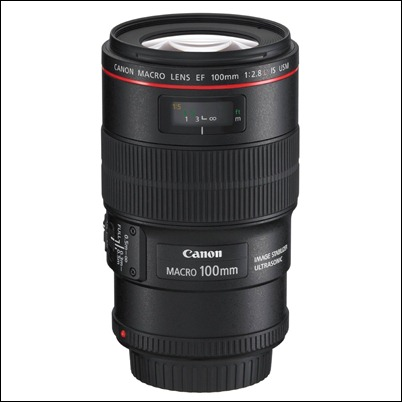Canon EF 100mm f2.8L IS USM 1-to-1 Macro Lens