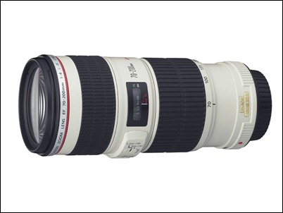 Canon EF 70-200mm f4L USM Telephoto Zoom