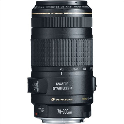Canon EF 70-300mm f4-5.6 IS USM Lens for Canon