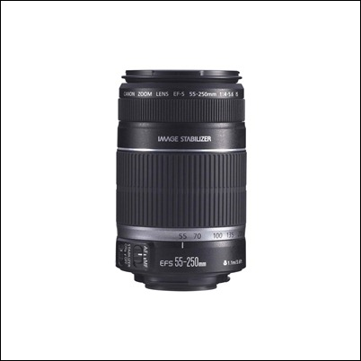 Canon EF-S 55-250mm f4.0-5.6 IS