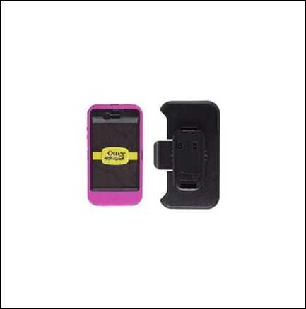 Defender Series Pink & Black Case