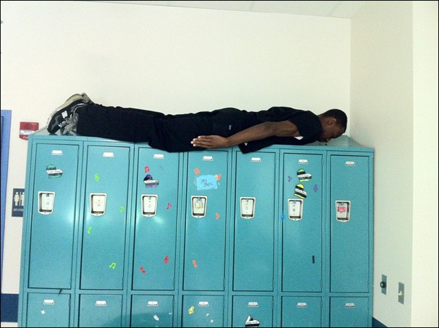 Planking at work