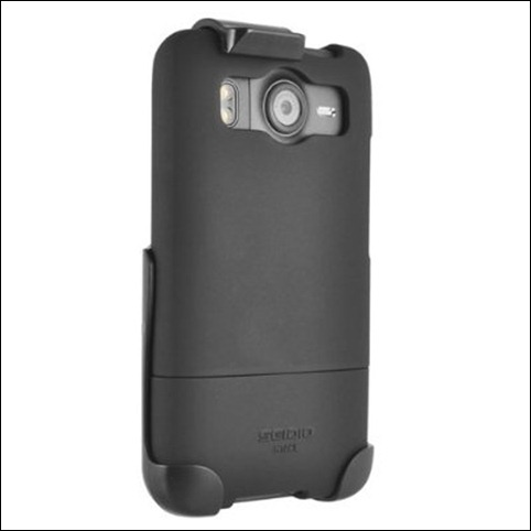 Seidio SURFACE Case and Holster Combo for Use with HTC Desire (Black)