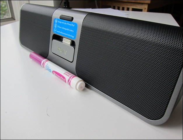 iHome iP56GVC Rechargeable Portable Stereo System