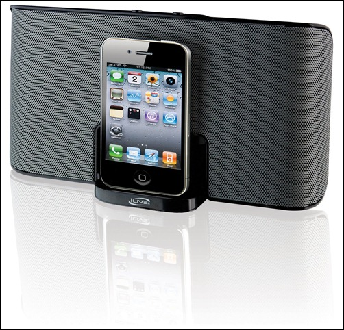 iLive iSP150B Portable Travel Speaker with Dock