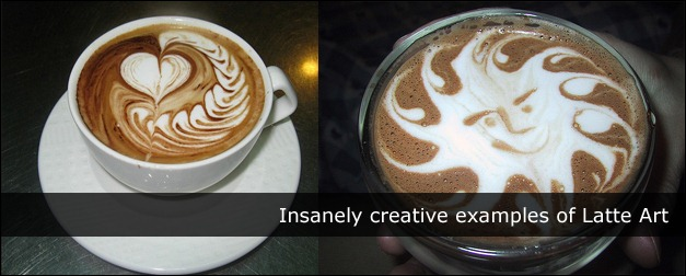Insanely creative examples of Latte Art