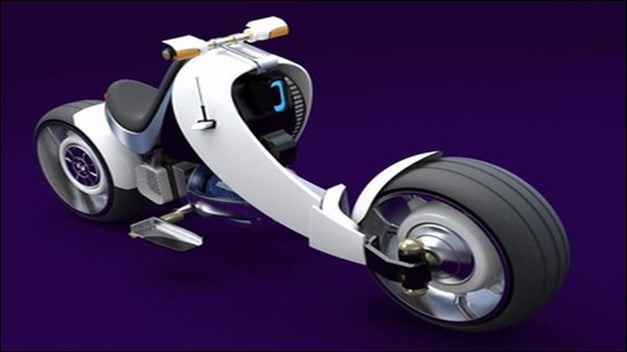 Nuclear Fusion Motorbike 2050