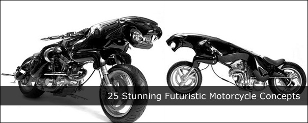 Stunning Futuristic Motorcycle Concepts