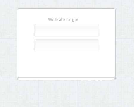 How to Create a Clean Login Form in Photoshop
