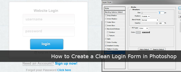 LOGIN-FORM-PHOTOSHOP