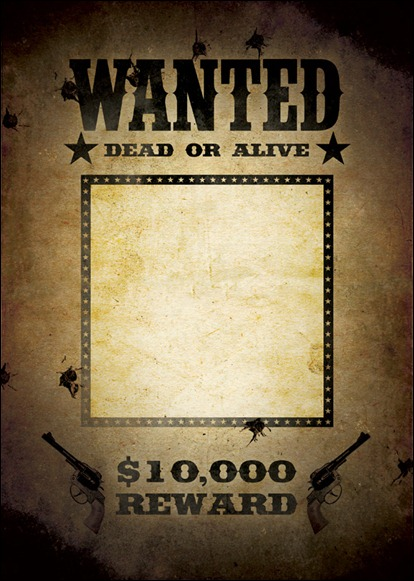 10  great wanted poster template collection