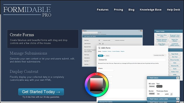 FormidablePro Powerful form builder for WordPress and so much more
