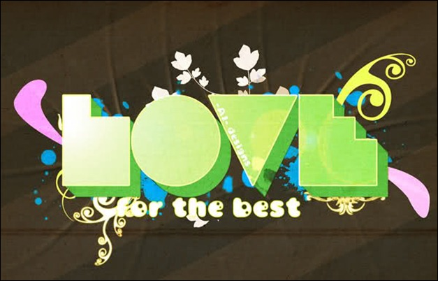 Love For The Best