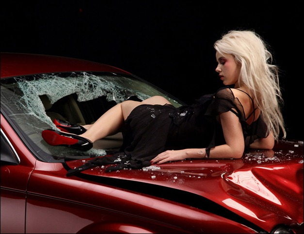hot-babe-and_red_car