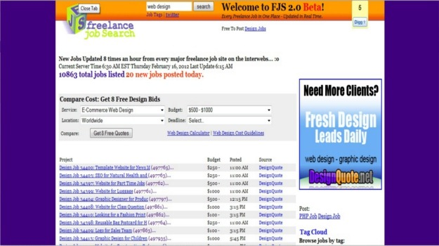 30 best sites to find freelance jobs for Freelance web design jobs from home