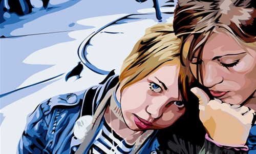 Scanner Darkly Photoshop Tutorial