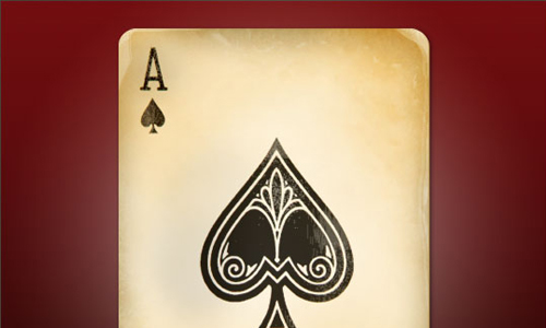 Ace of Spades Photoshop tutorial