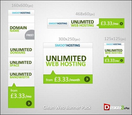 clean-web-banner-pack