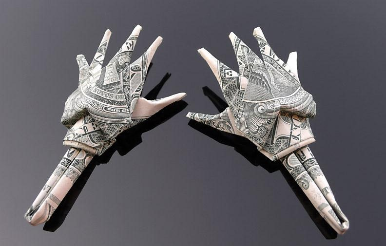 30 Excellent Examples Of Dollar Bill Origami Art