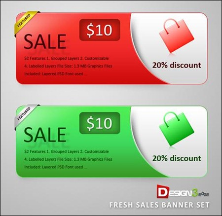 fresh-sales-banner-set