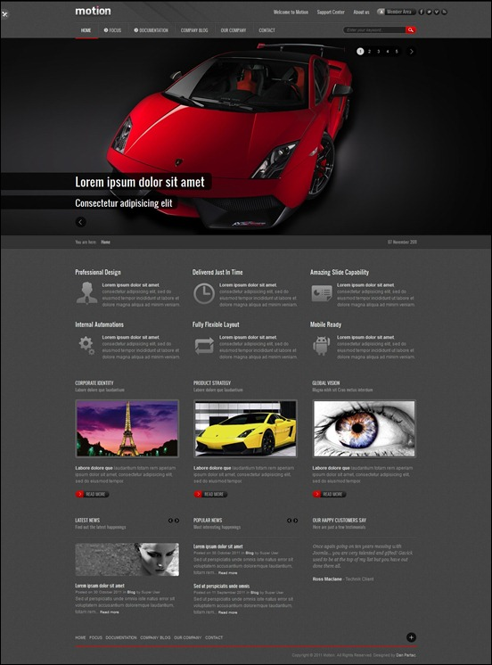 agora clean joomla 2 5 template joomla themeforest 40 of the best joomla 2 5 templates