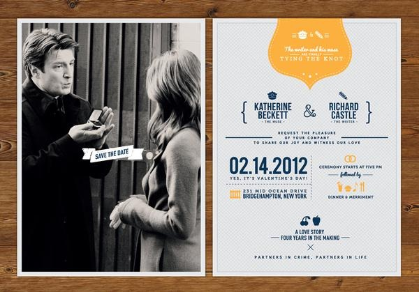 Rick U0026 Kate Wedding Invitation