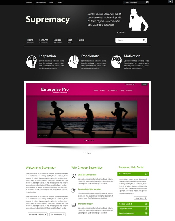 more info demo by themeforest premium joomla 2 5 template